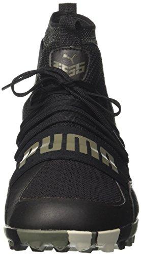 Puma 365.18 Ignite High St, Chaussures de Football Homme Noir (Puma Black-flame Scarlet-castor Gray)