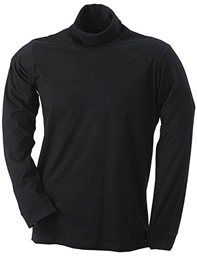 Rollneck Shirt, black, XL (Erwachsenen James T-shirt)