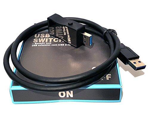 Interruptor USB Encendido / Apagado USB 3.0 y 2.0 - HmbG 1401 - USB On