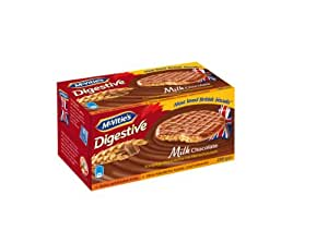 McVities Digestive Milk Chocolate, 10 Packungen