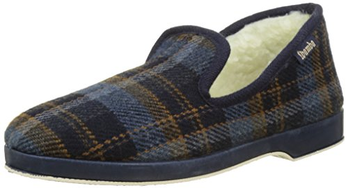 Victoria Confortable Cuadros H/Torcido, Chaussons Bas Homme