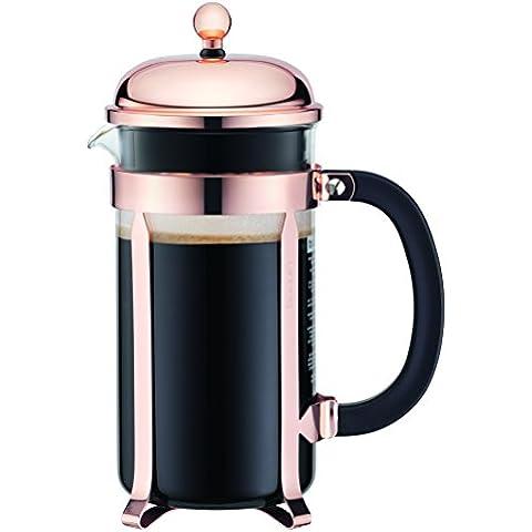 Bodum 11652-18 Chambord cafetera de émbolo, {8} tazas, 1.0 L