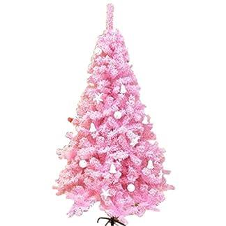 Conjunto de árbol de Navidad Rosa, árbol de Navidad Ornamento de árbol de Navidad, 1,8 Metros Desmontable