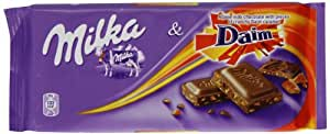 Milka Daim Bar 100 g (Pack of 20)