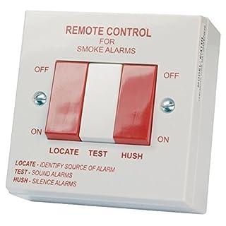 Aico EI1529RC Hardwired Smoke Alarm Remote Test, Hush & Locate Switch