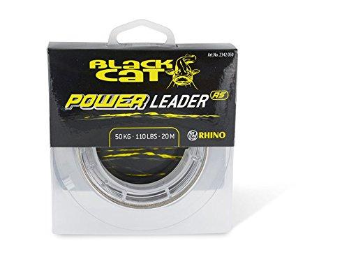 Black Cat Power Leader 50kg 20m