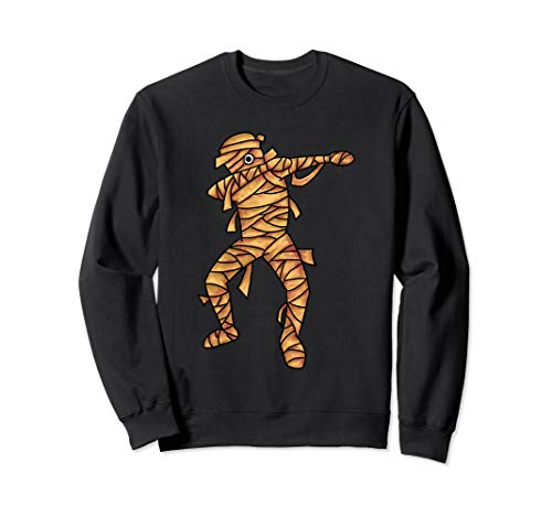 Dabbing Mumie Dab Tanz Mumien Halloween Kostüm Humor Gift Sweatshirt