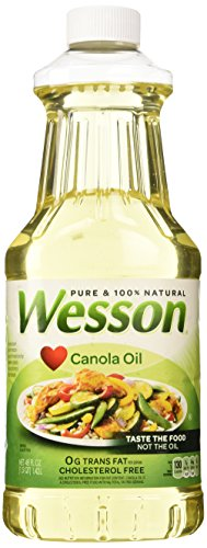 Pack of 1 Wesson Canola Oil-48 OZ