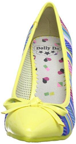 Dolly Do DD52213 Damen Pumps Gelb (yellow 03)