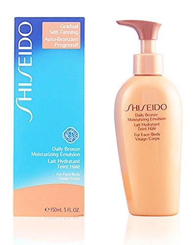 Shiseido - emulsione giorno abbronzante per viso e corpo, 150 ml