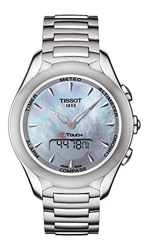 Tissot T-Touch Lady Solar Stahl/Stahl, T075.220.11.101.00