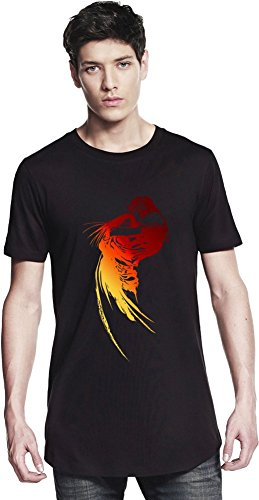 Final Fantasy Logo Long T-shirt Small