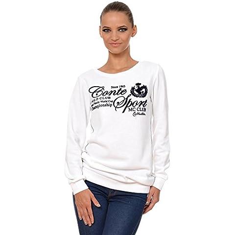 M.Conte women Sweat-Shirt Sudaderas suéter Manga largos para mujer Kristin
