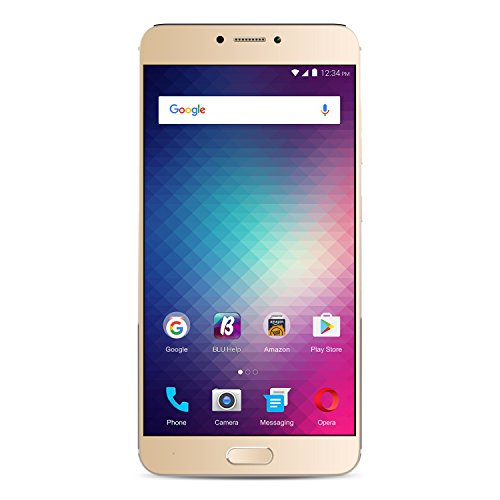 BLU VIVO 6 4G LTE SIM-Free Smartphone (64 GB and 4 GB RAM) - Gold