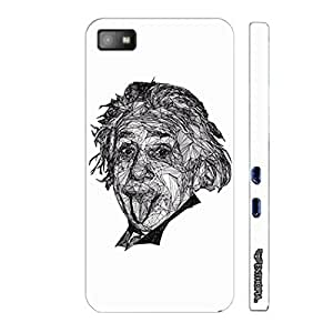 Blackberry Z10 Einstein to you designer mobile hard shell case by Enthopia