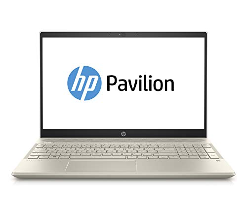 HP Pavilion 15-cs0208ng (15,6 Zoll Full-HD IPS) Notebook (Intel Core i7-8550U, 256GB SSD, 8GB RAM, Intel UHD Graphics, Windows 10 Home 64) gold