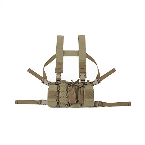 Hotour Outdoor Taktische Chest Rig Airsoft Jagd Weste Molle Pouch Einfache militärische T