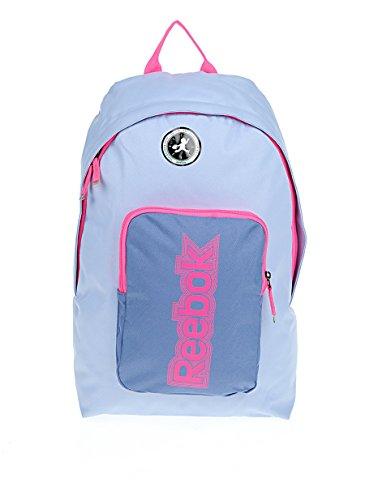 Reebok-Zaino per la scuola astuccio gratuito. Lilac/Pink taglia unica