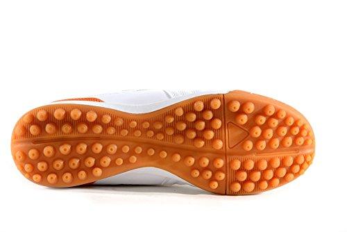Agla Professional Chaussures de marche Futsal Anti-chocs F/40 Blanc Cassé - Bianco/Arancione