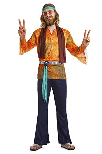 Imagen de disfraz hippie chico talla m l