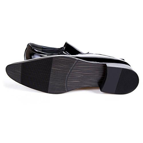 Robelli , Chaussures de ville à lacets pour homme noir noir 006