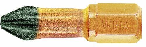Wiha 71211 No.1 x 25mm PoziDriv Dura Insert Bit by Wiha (Dura Insert)