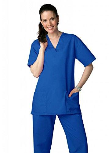 adar-universal-unisex-drawstring-scrub-set-available-in-39-colors-701-royal-blue-xs