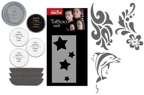 Fantasy 37323, tattoo, set da trucco per bambine e bambini