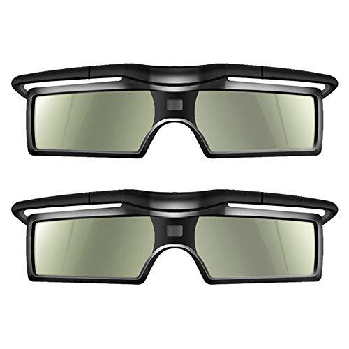 Docooler 2 Stücke G15-DLP 3D Aktive Shutter Brillen 96-144Hz für LG/BENQ/ACER/Sharp DLP Verbindung 3D Projektor