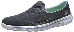 Skechers Womens Charcoal Nordic Walking Shoes - 4 UK/India (37 EU) (7 US)