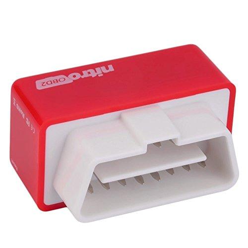 Preisvergleich Produktbild Vinciann Zusätzliches Modul rot Steuereinheit Auto Diesel Car Tuning Nitro OBD2 OBDII