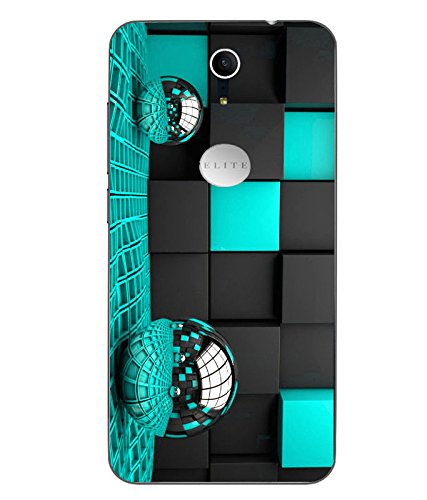 Snazzy Abstract Balls Printed Colorful Soft Back Cover For Swipe Elite Plus
