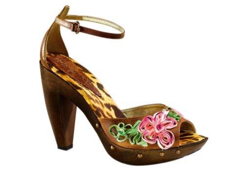RICK CARDONA  Sandalette bunt, Sandales pour femme Multicolore Multicolore - Cogna+Bunt