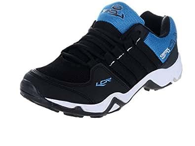 Lancer Men's Black Cbl Mesh Sports Shoe -10 UK