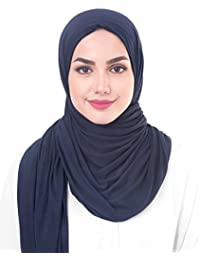InEssence© New Viscose Lycra Jersey Scarf Ladies Wrap Hijab