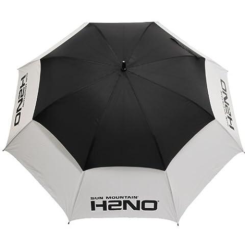 Sun Mountain Golf H2NO Parapluie de golf douvle noir Noir/Blanc n/a