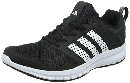 adidas , Herren Sneaker Multicolore (Black/White)