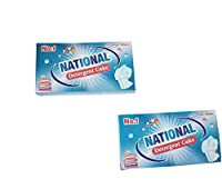 National Detergent cake(combo pack of 2-170g each) for all types of Clothes