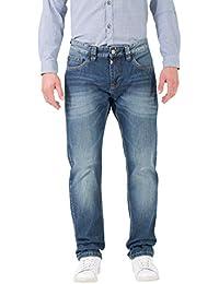 Timezone Herren Straight Jeans Regular Coast
