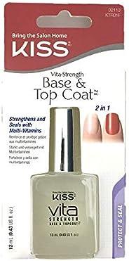 KISS Nail Treatment Base & Top Coat KTR01F, 1