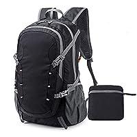 A-QMZL 40L Hiking Travel Backpack Ultralight Lightweight Foldable Daypack Waterproof Camping Rucksack Packable Outdoor Knapsack