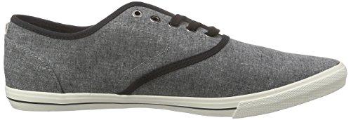 JACK & JONES Herren Jjspider Chambray Sneaker Grau (Anthracite)