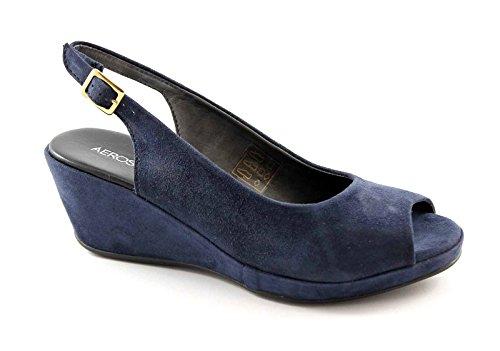 AEROSOLES WELCOME navy scarpe donna sandali comfort passeggio Blu