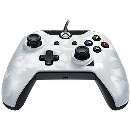 PDP - Mando Licenciado Nueva, Color Camuflaje Blanco (Xbox One)