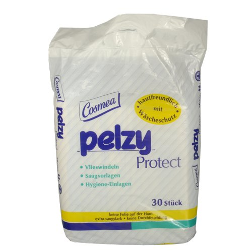 Preisvergleich Produktbild Cosmea Pelzy Protect Vlieswindeln, 9er Pack (9 x 30 Stück)