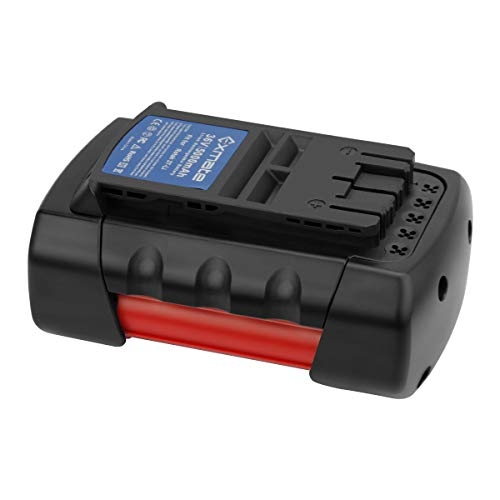 Exmate 36V Batterie Kompatibel mit Bosch Rotak 32 LI, 34 LI, 37 LI, 43 LI Akku-Rasenmäher, Lithiumbatterie