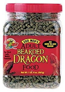Zoo Med Adult Bearded Dragon Food 567g by Zoo Med Labs