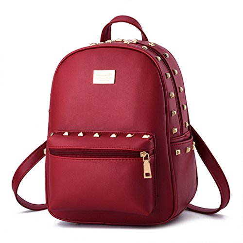 FOLLOWUS zaino borsa, Black (nero) - G72241 Wine Red