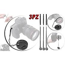 Canon EOS lanière Sticker pour bouchon cache objectif Lacet sécurité Lens Cap Keeper Holder string rope Elastic Band Cache objectif appareil photo camera snap-on coque lentille Canon STM EF-M 22mm f/2, EF-S 18–135mm F3.5–5.6IS, EF 24mm f/2.8IS USM, EF-S 18–55mm f/3.5–5.6II, EF-S 18–55mm f/3.5–5.6III, EF-S 18–135mm F3.5–5.6, EF-S 18–55mm f/3.5–5.6IS, EF-S 18–55mm f/3.5–5.6II, EF-S 18–55mm f/3.5–5.6, 28–200mm f/3.5–5.6, EF 28–200mm f/3.5–5.6, EF 28–80mm f/3.5–5.6II, EF 28–105mm f/3.5–4.5II USM