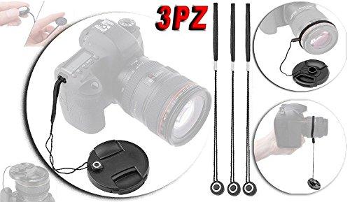 CANON EOS LACCETTO ADESIVO PER TAPPO COPRI OBIETTIVO LACCIO SICUREZZA LENS CAP KEEPER HOLDER STRING ROPE ELASTIC BAND COPRIOBIETTIVO FOTOCAMERA CAMERA SNAP-ON COVER LENTE Canon EF 85mm F1.4L IS USM, EF-S 35mm F2.8 Macro IS, EF-S 18-55mm F4-5.6 IS, EF-M 18-150mm F3.5-6.3 IS, EF-M 28mm F3.5 Macro IS, EF-S 18-135mm F3.5-5.6 IS USM, EF-M 15-45mm F3.5-6.3 IS, EF 50mm f/1.8 STM, EF-M 55-200mm f/4.5-6.3 IS, EF-S 10-18mm f/4.5–5.6 IS, EF-S 18-55mm f/3.5-5.6 IS, EF 35mm F2 IS USM